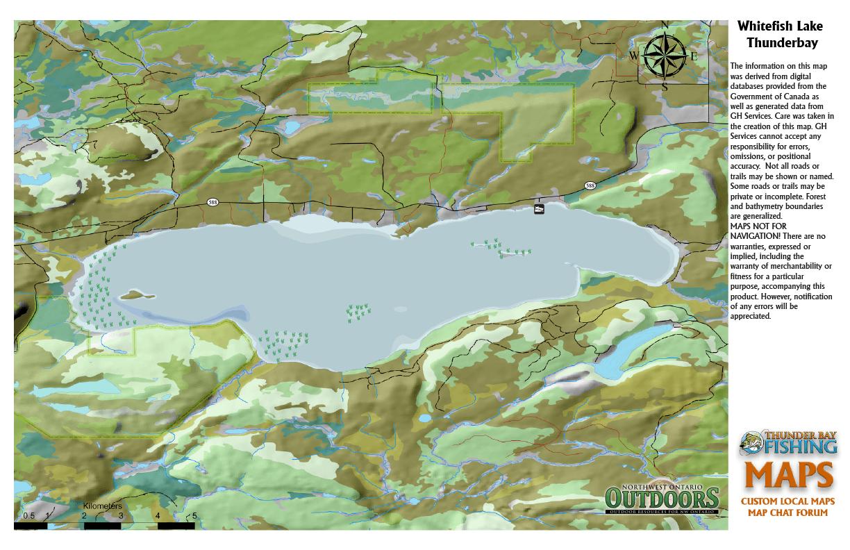 Map Of Lake Ontario on