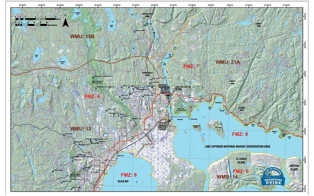 New Products: Nipigon area Maps