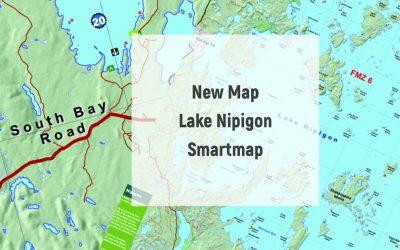 New Map – Lake Nipigon